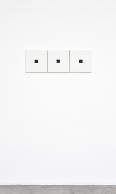 Niele Toroni, '3 Empreintes de pinceau N°50 à intervalles réguliers de 30 cm', 2017