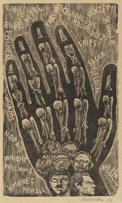 Leopoldo Mendez, 'Proletarian Hand', 1932