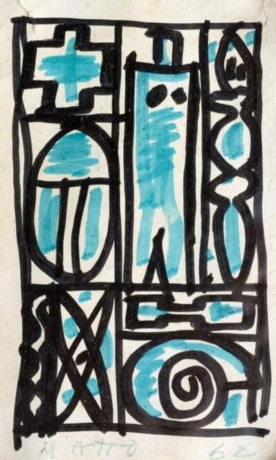 Francisco Matto, 'Constructivo', 1962