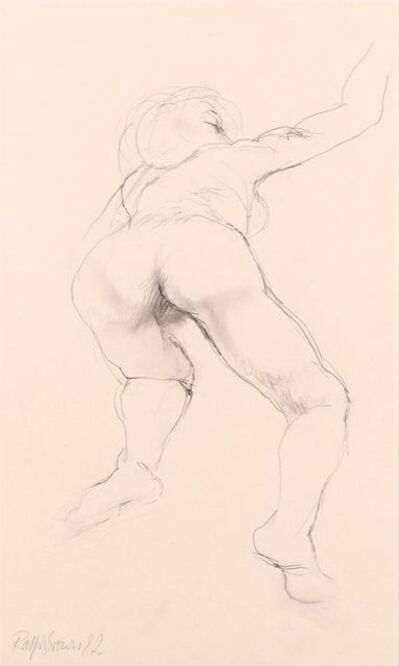 Ralph Brown, 'Nude from behind'
