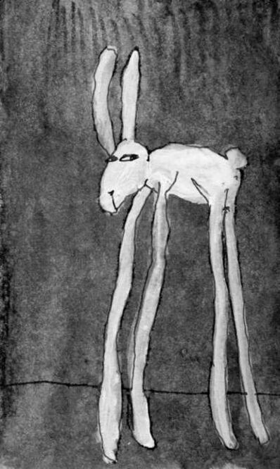 Johnny Lieberman, '(Tall) Rabbit #2', 2018