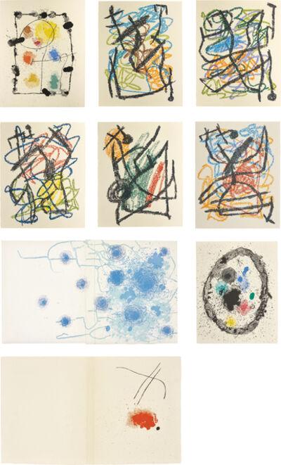 Joan Miró, 'Je travaille comme un Jardinier (I Work as a Gardener)', 1963