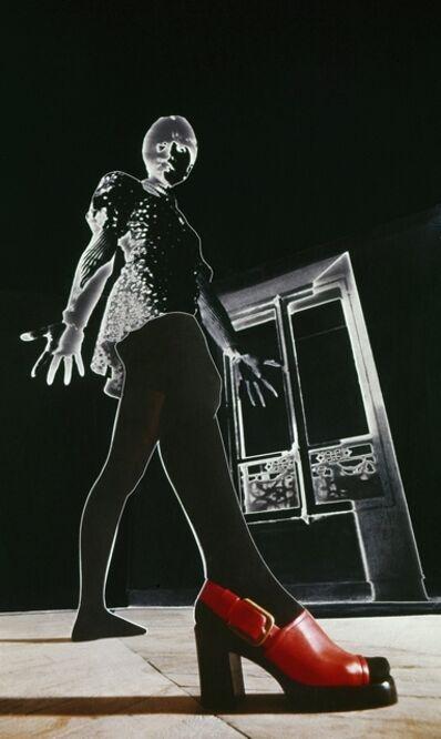 Michel Hosszu, 'CHAUSSURE ROUGE ', 1972