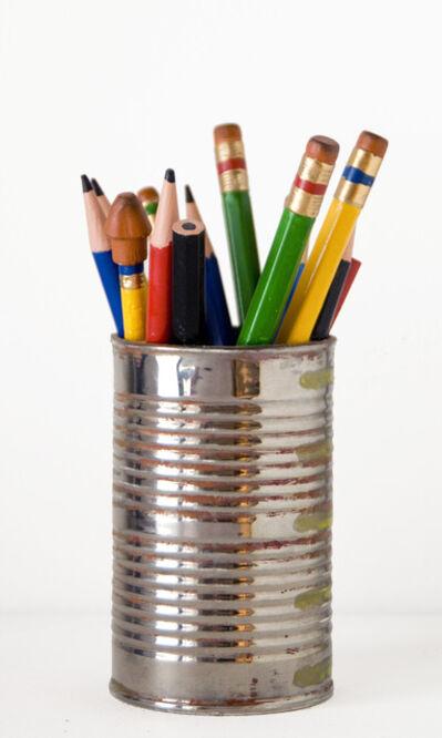 David Furman, 'Tin Can with Pencils', 2013