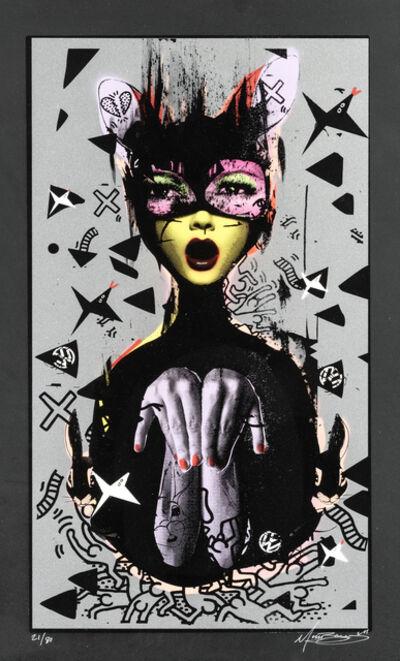 Miss Bugs, 'Eyes Glanced At Hidden Desires (Metallic Grey)', 2011