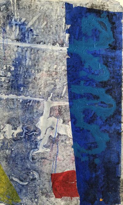 Jeffrey Kurland, 'Standing Blue', 2019