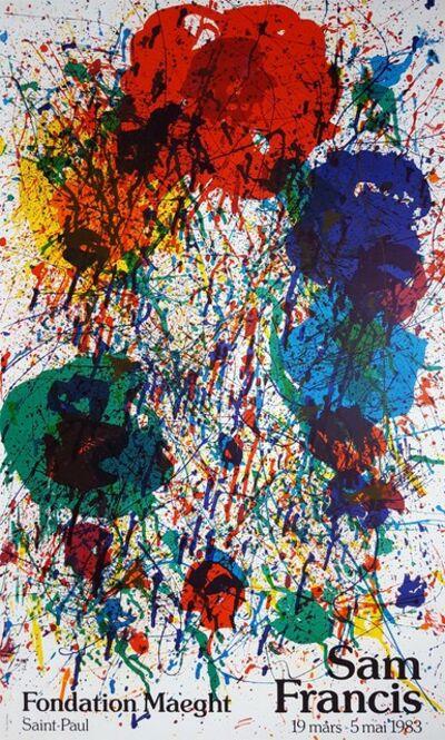 Sam Francis, 'Untitled (Fondation Maeght)', 1983