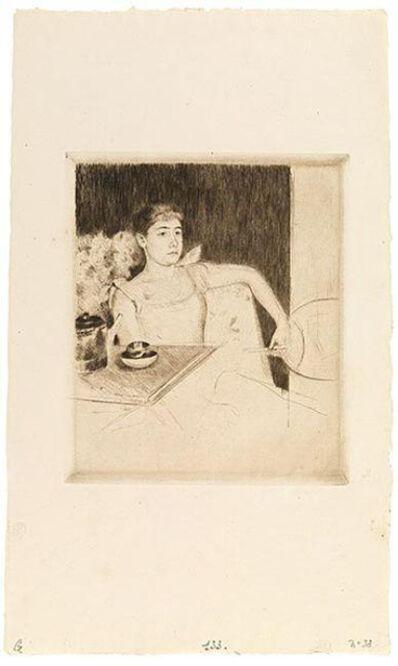 Mary Cassatt, 'Tea', ca. 1890