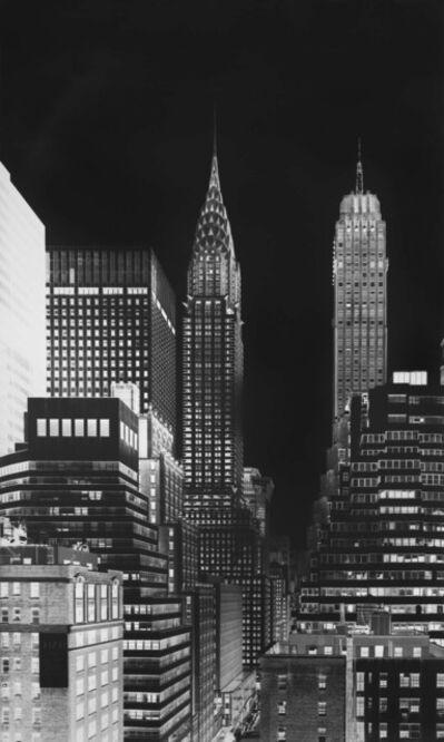 Vera Lutter, 'Chrysler Building, VIII: july 13', 2014