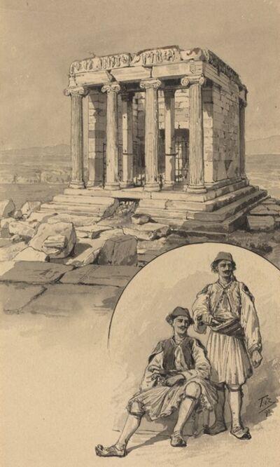 Themistocles von Eckenbrecher, 'Nike Temple', 1890