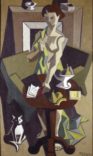 Jean Metzinger, 'The Green Robe', 1912-1914