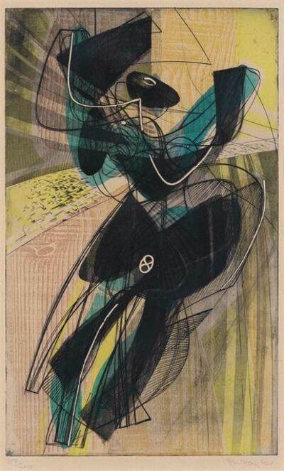 Stanley William Hayter, 'Danse Du Soleil (Black/Moorhead 197)', 1951