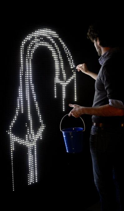 Antonin Fourneau, 'Waterlight Graffiti'