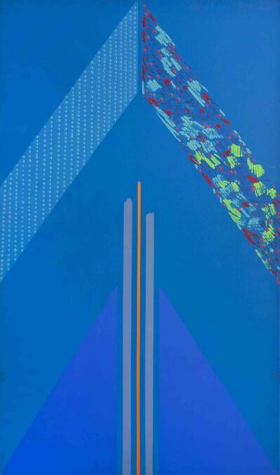 Kevin Atkinson, 'Blue Triangle', 1966