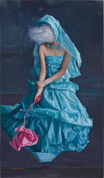 Zeng Chuanxing, 'Blue Paper Bride-Dream', 2008