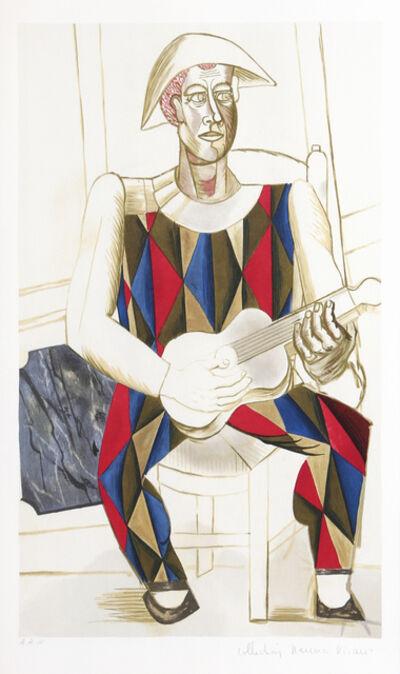 Pablo Picasso, 'Arlequin a la Guitare', 1973-original from 1916