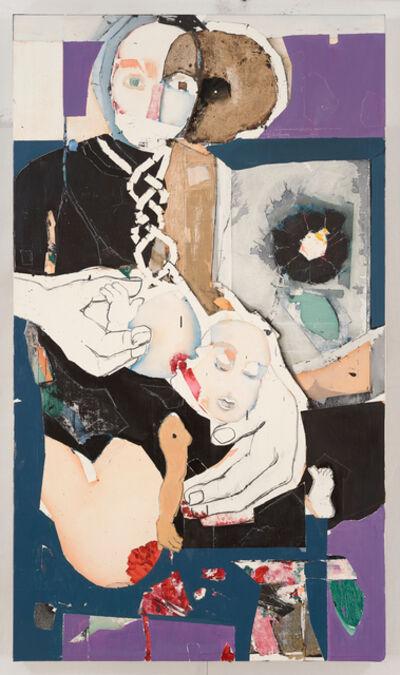 Magnus Plessen, 'Untitled (exlibris)', 2017