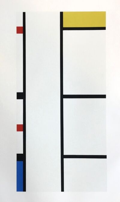 Piet Mondrian, 'Composition ', 1957