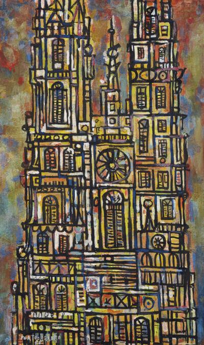 René Portocarrero, 'Catedral, Plaka 1955', 1955