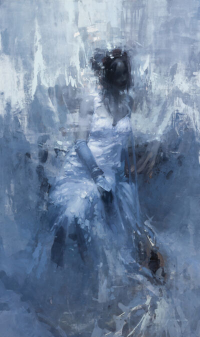 Jeremy Mann, 'The White Oracle', 2019