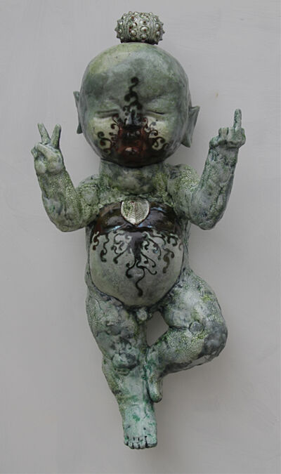 Christopher Reilly, 'Peaceful & Wrathful Buddha Boy', 2013