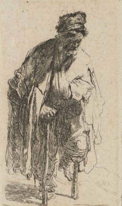 Rembrandt van Rijn, 'Beggar with a wooden Leg', circa 1630