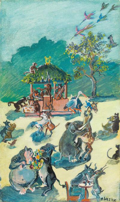 Oskar Laske, 'Animal Dance', 1942