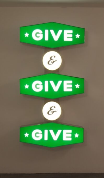 Steve Lambert, 'Give and Give and Give', 2012