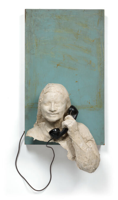 George Segal, 'Julie: Woman on Telephone', circa 1971