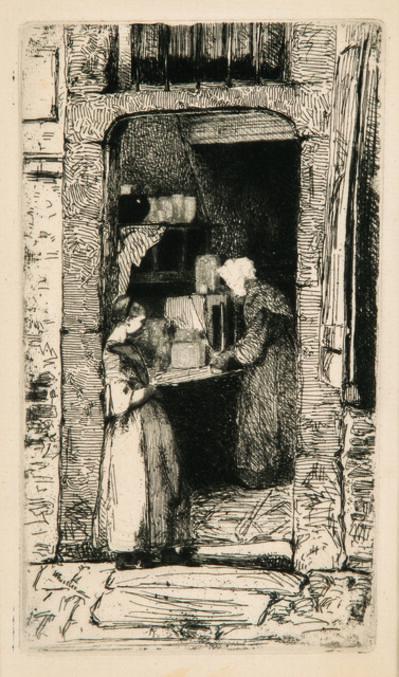James Abbott McNeill Whistler, 'La marchande de moutarde', 1858