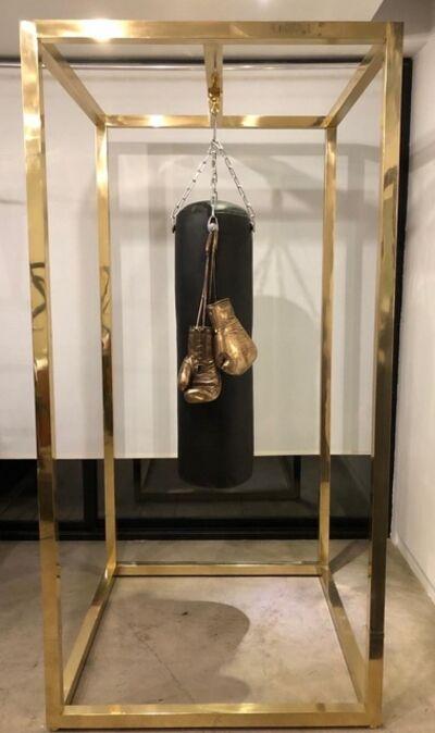 Ignacio Gana, 'Boxing Gloves With Cage', 2020