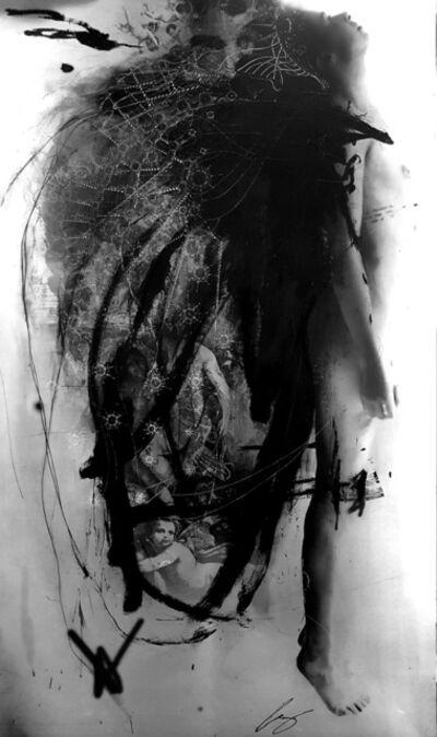 Marie-Josée Roy, 'L'emprunte (engraving by Jerome Prieur) ', 2019