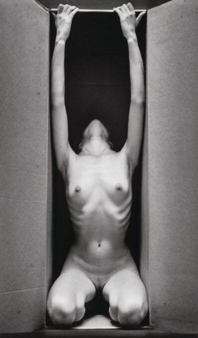 Ruth Bernhard, 'In the Box-Vertical', 1962