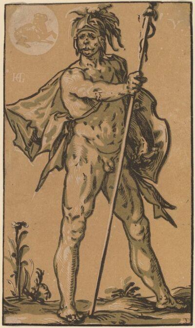 Hendrik Goltzius, 'Mars', probably c. 1594