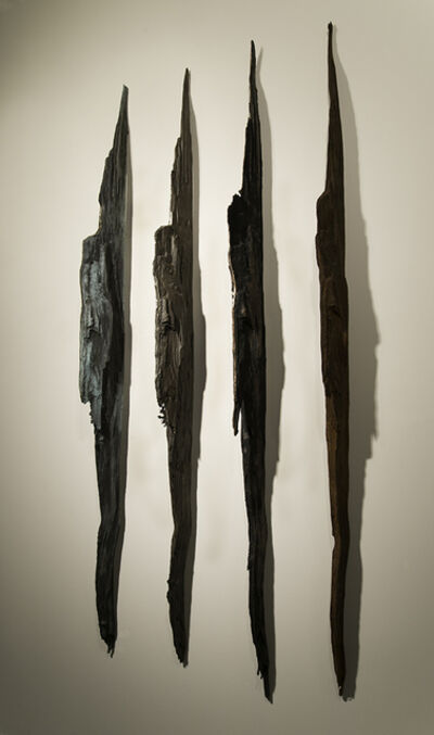"John Ruppert, 'Wall Strikes I - 42°45'49.8""N 72°10'03.4""W', 2010-2013"