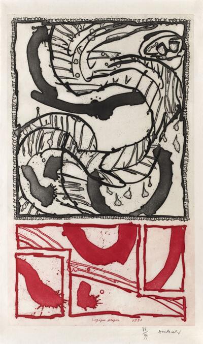 Pierre Alechinsky, 'Logique propre', 1990