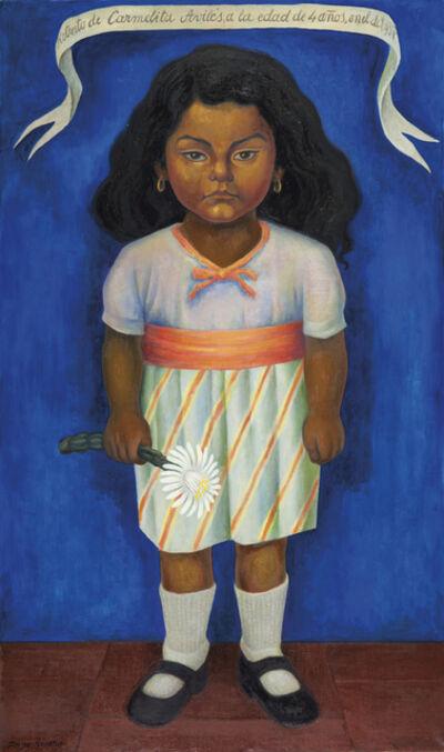Diego Rivera, 'Retrato de Carmelita Avilés', 1937