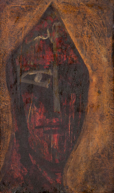 "Cecil Collins, '""Head of a Fool""'"