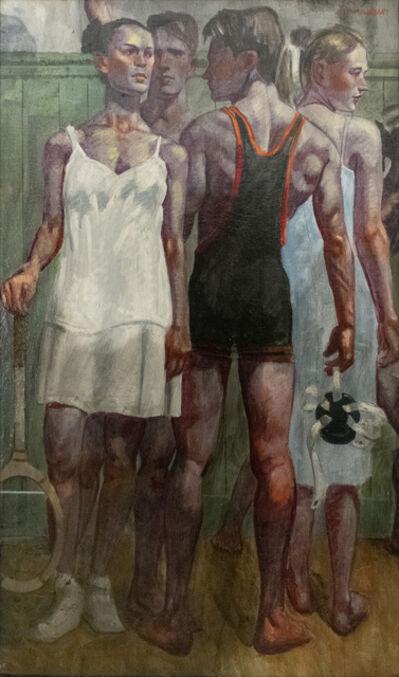 Mark Beard, 'Tennis Whites & Wrestling Singlet'