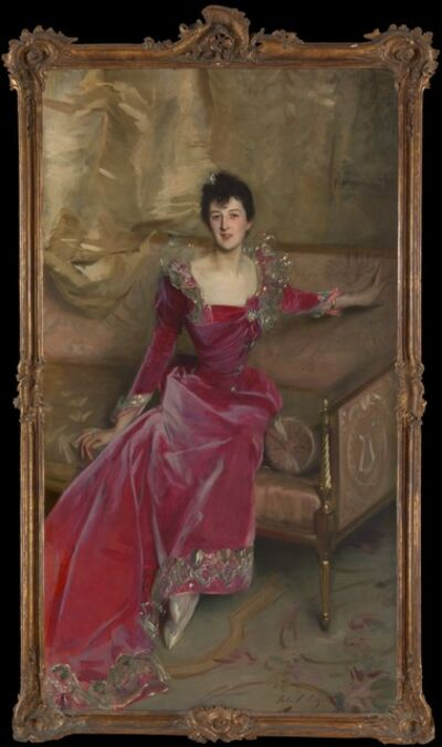 John Singer Sargent, 'Mrs. Hugh Hammersley', 1892
