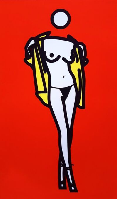 Julian Opie, 'Woman Taking Off Man's Shirt', 2003
