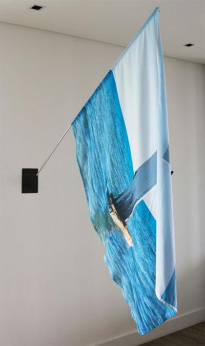 Santiago Velez, 'Doors to the sea - Mediterraneo, Flag', 2017