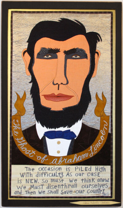Chris Roberts-Antieau, 'The Ghost of Abraham Lincoln', 2019