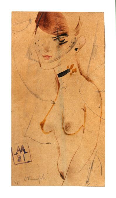 ALBERTO MANFREDI, 'Senza titolo', 1981
