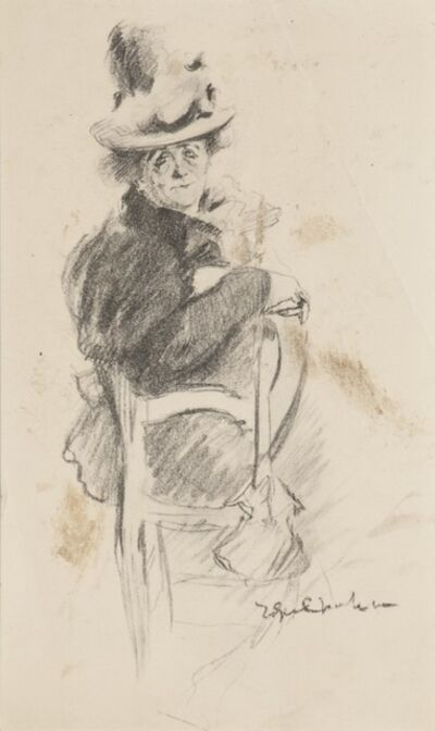 Unknown, 'Seated Figure', 20th Century