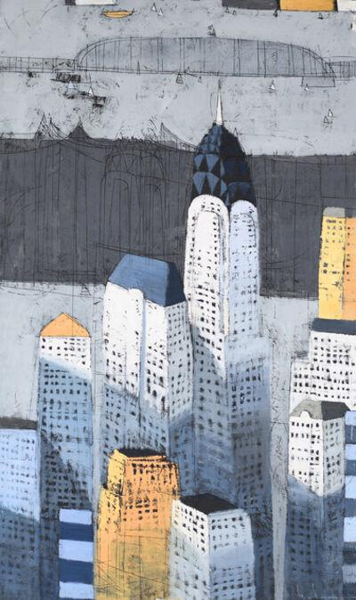 Paul Balmer, 'Above a Grey Bridge', 2018