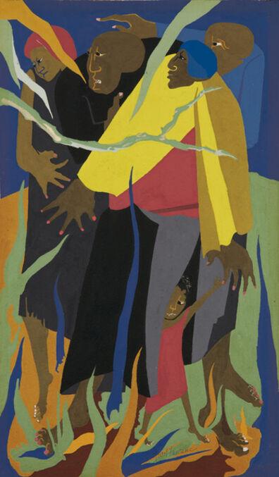 Jacob Lawrence, 'Escape', ca. 1967