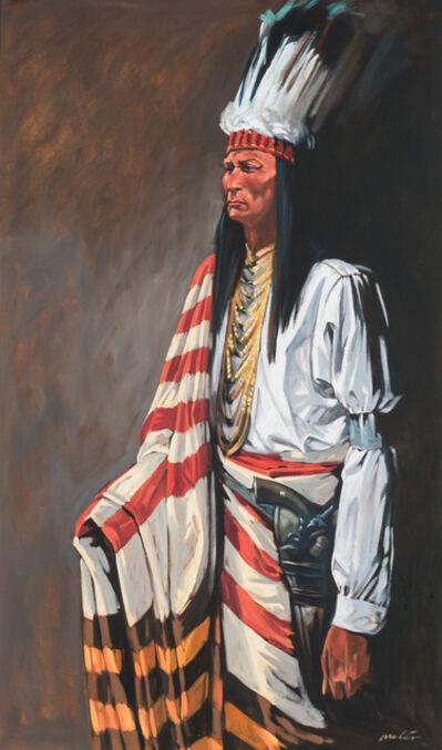 Walt Wooten, 'Piegan Warrior'