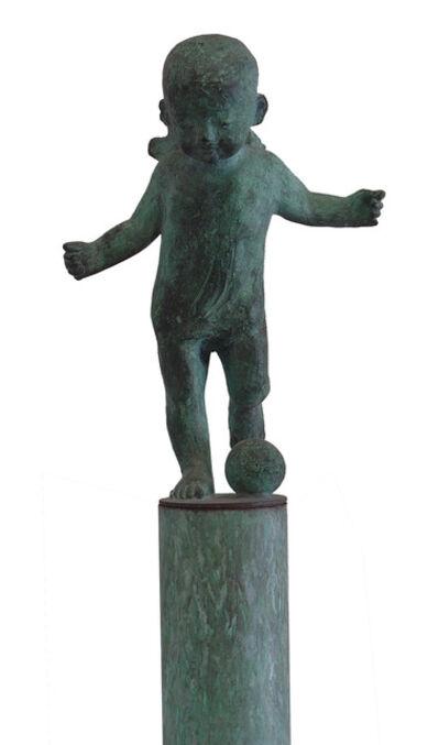Aurora Cañero, 'Ángel con balón', 1999