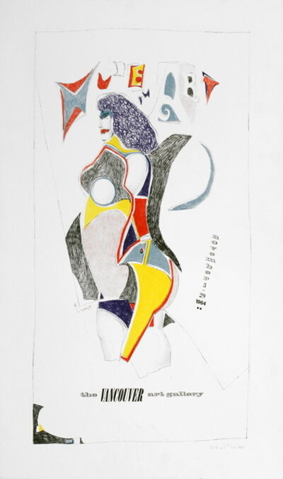 Richard Lindner, 'Vancouver Art Gallery', 1964